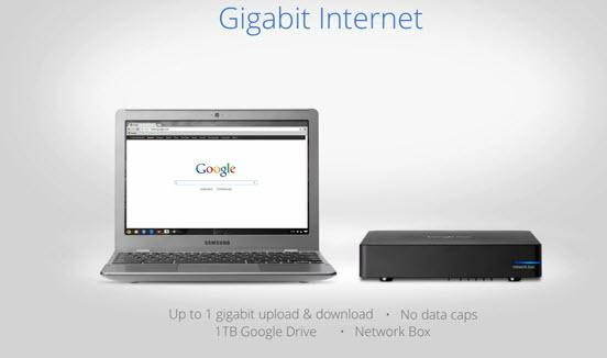 Google Gigabit Internet