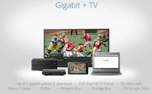 Google Fiber Gigabit + TV