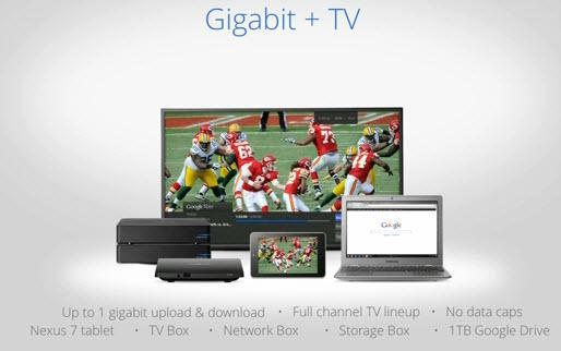 Google Fiber Gigabit + TV