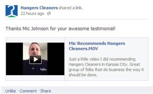 Mic Recommends Hangers Cleaners