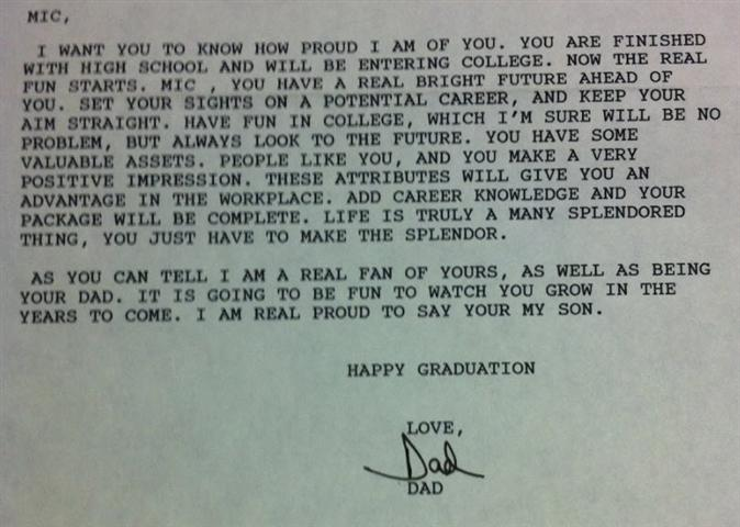 Note From Pat Johnson
