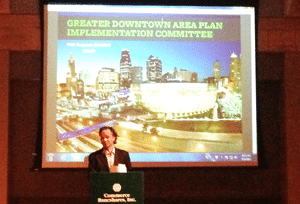 Downtown Council Board Meeting - September 2013