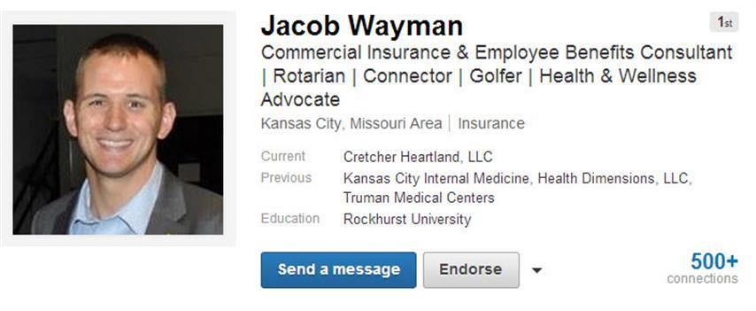 Jacob Wayman LinkedIn