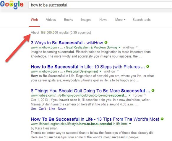 How To Be A Success (Small)