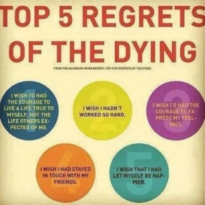 5 regrets of the dying
