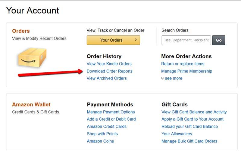 amazon com my orders