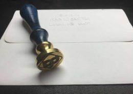Blue Gurus Custom Wax Stamp