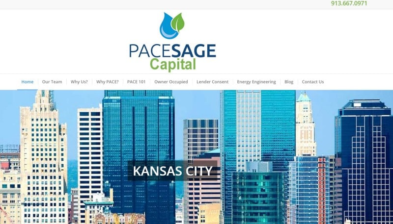 PaceSageCapital website