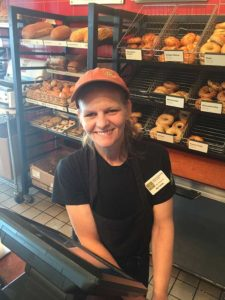 Pictures Tell the Story: Shelly Edwards at Panera and her Random Act of Kindness
