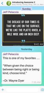 Jeff Pelaccio WhatsApp
