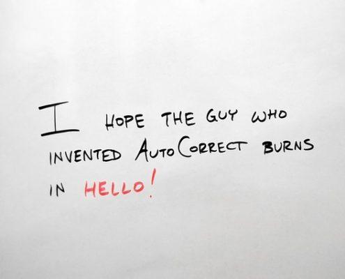 Blue Gurus: Auto Correct
