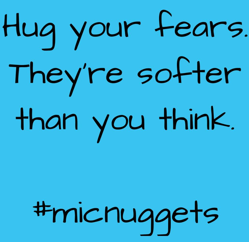 hug your fear micnuggets