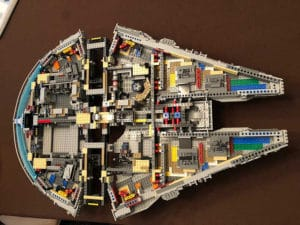 LEGO 75192 Millennium Falcon: Making Progress