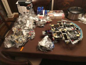 LEGO 75192 Millennium Falcon: Starting to Build
