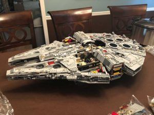 LEGO 75192 Millennium Falcon: Almost Done