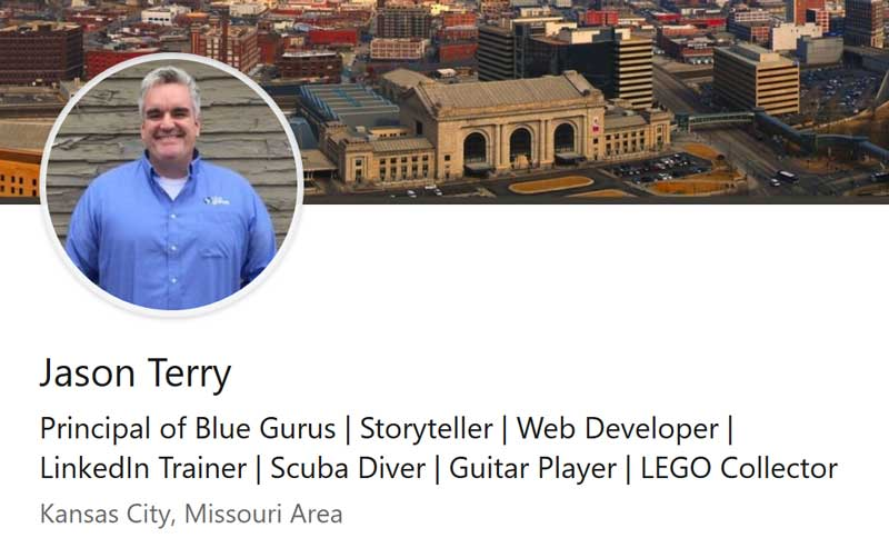 Blue Gurus: LinkedIn Headline