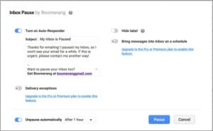 Boomerang: Pause Your Inbox