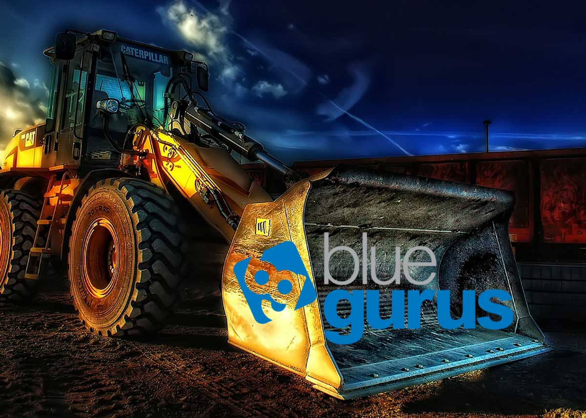 New Blue Gurus Website