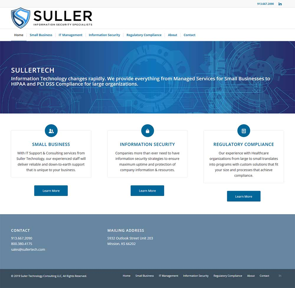 Blue Gurus: Suller Information Security Specialists