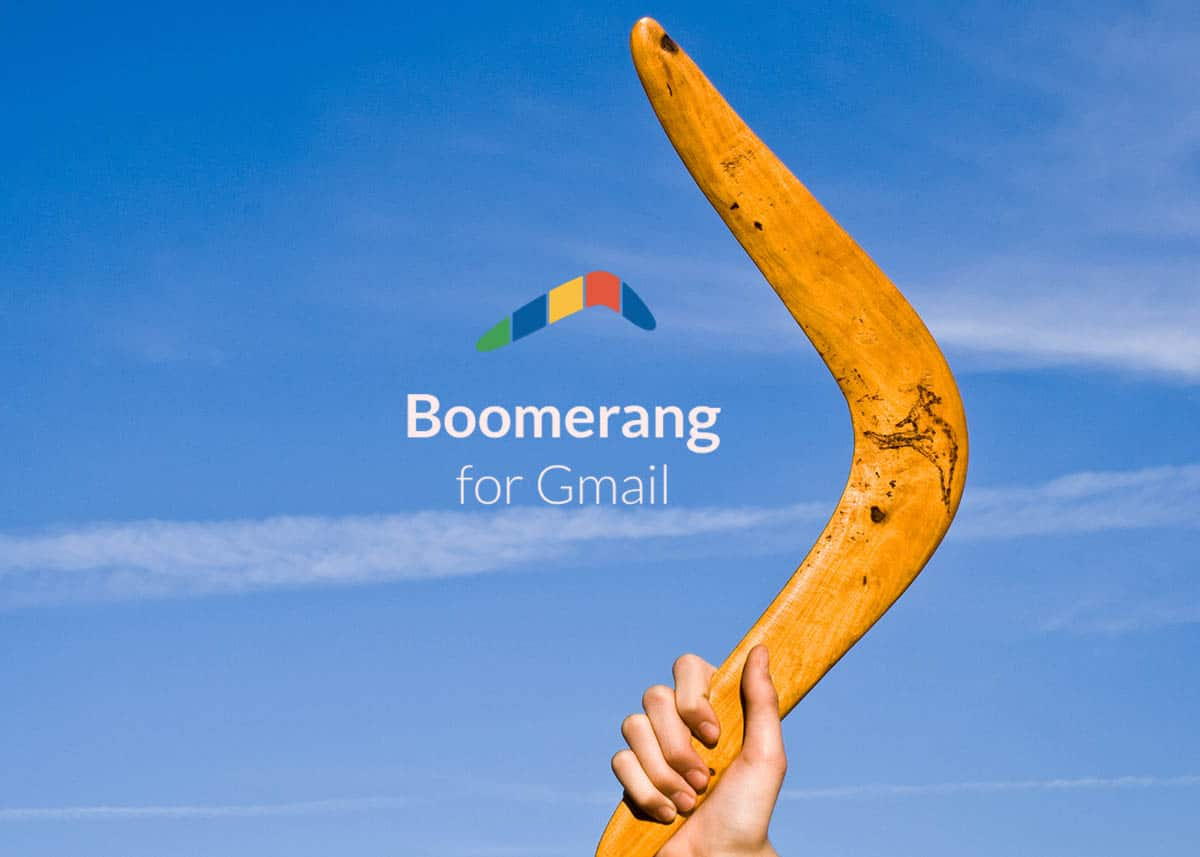 Boomerang for Gmail and Outlook: Managing your Email More Efficiently
