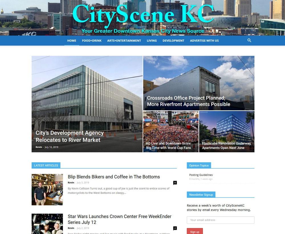 Blue Gurus: CityScene KC
