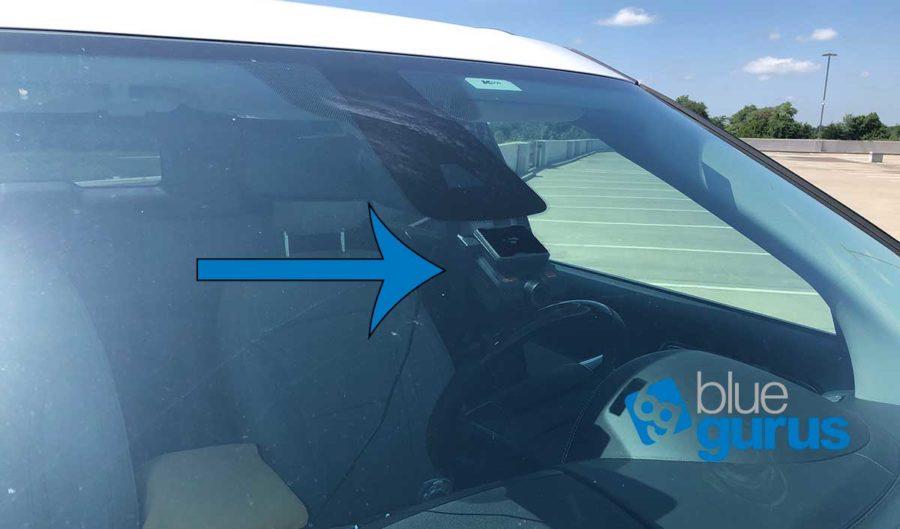 ROAV DashCam in Car