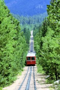 Cog Railway in Colorado Springs