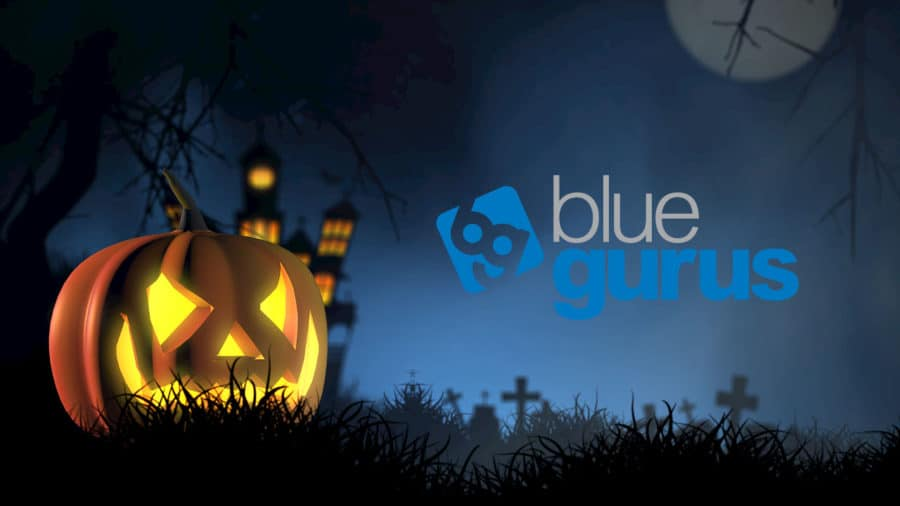 Blue Gurus Spooky News