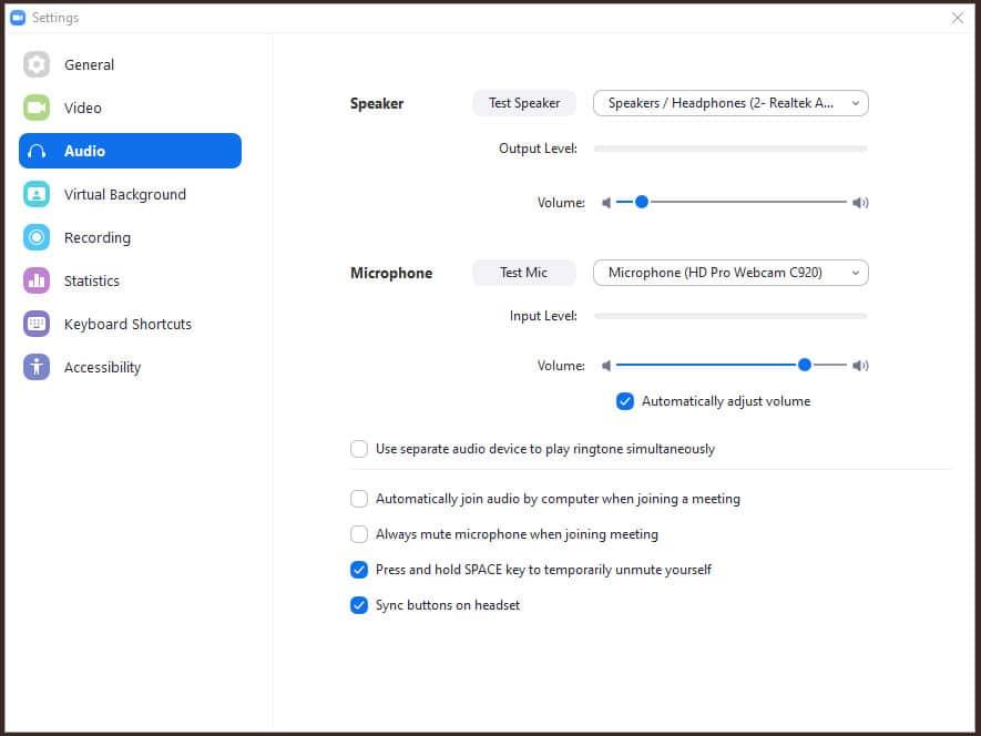 Blue Gurus: Zoom Meeting Video and Mic Settings