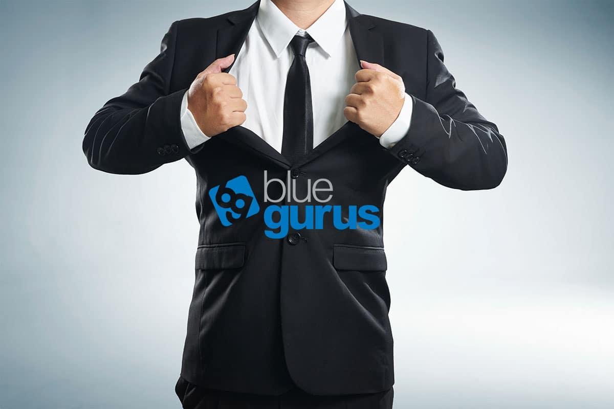 Blue Gurus: Following through is a superpower