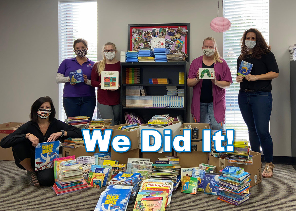 KCSL Book Drive Success!