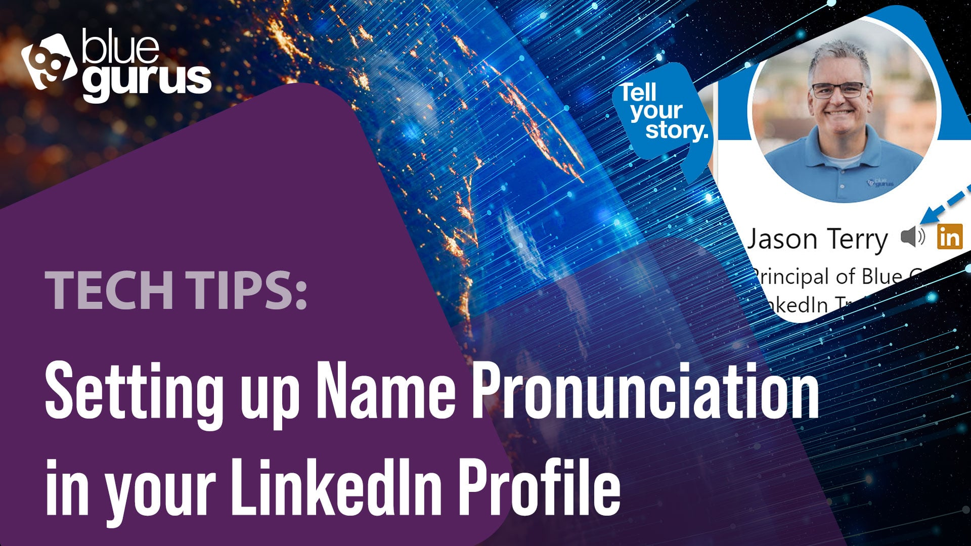 Tech Tip: LinkedIn Name Pronunciation Setup