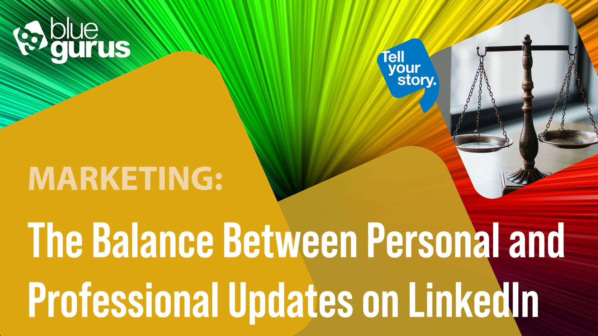 The Balance Between Personal and Professional Updates on LinkedIn