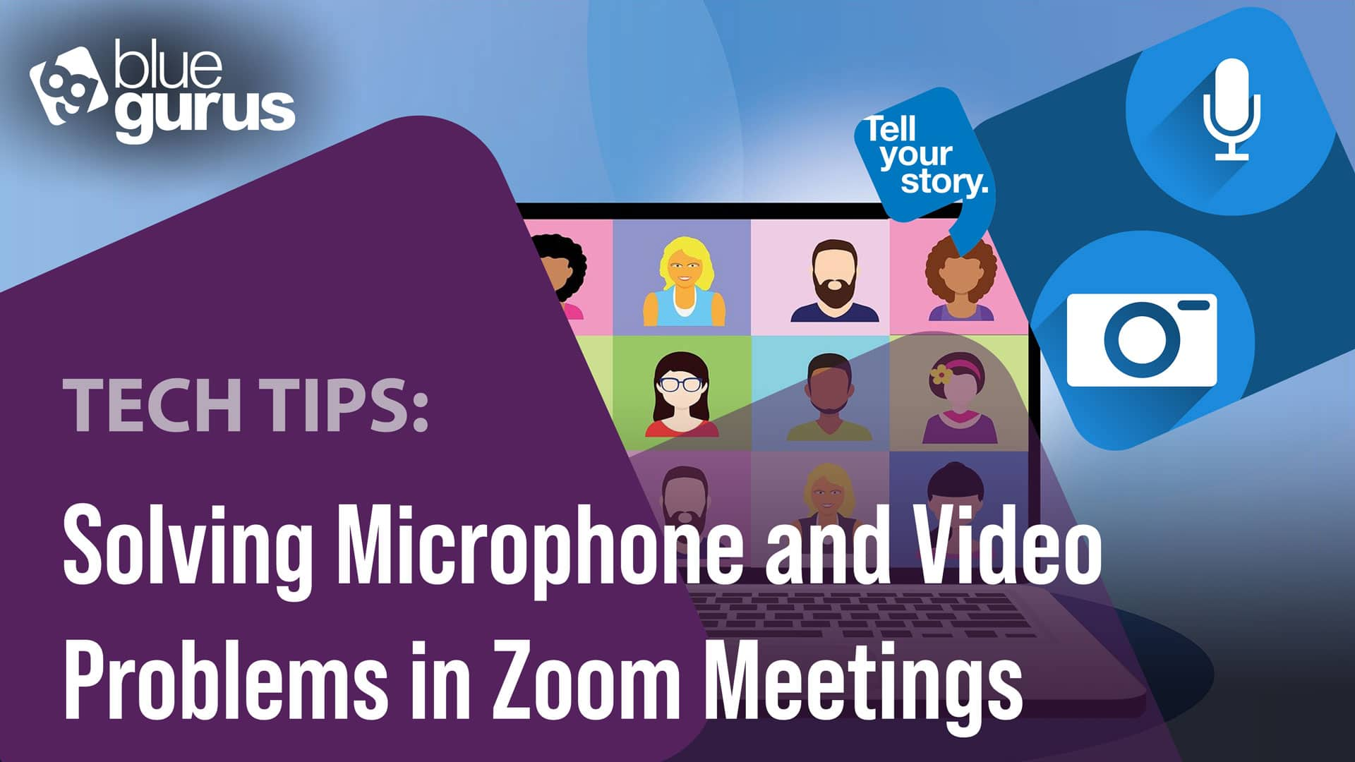 Solving Microphone and Video Problems in Zoom Meetings