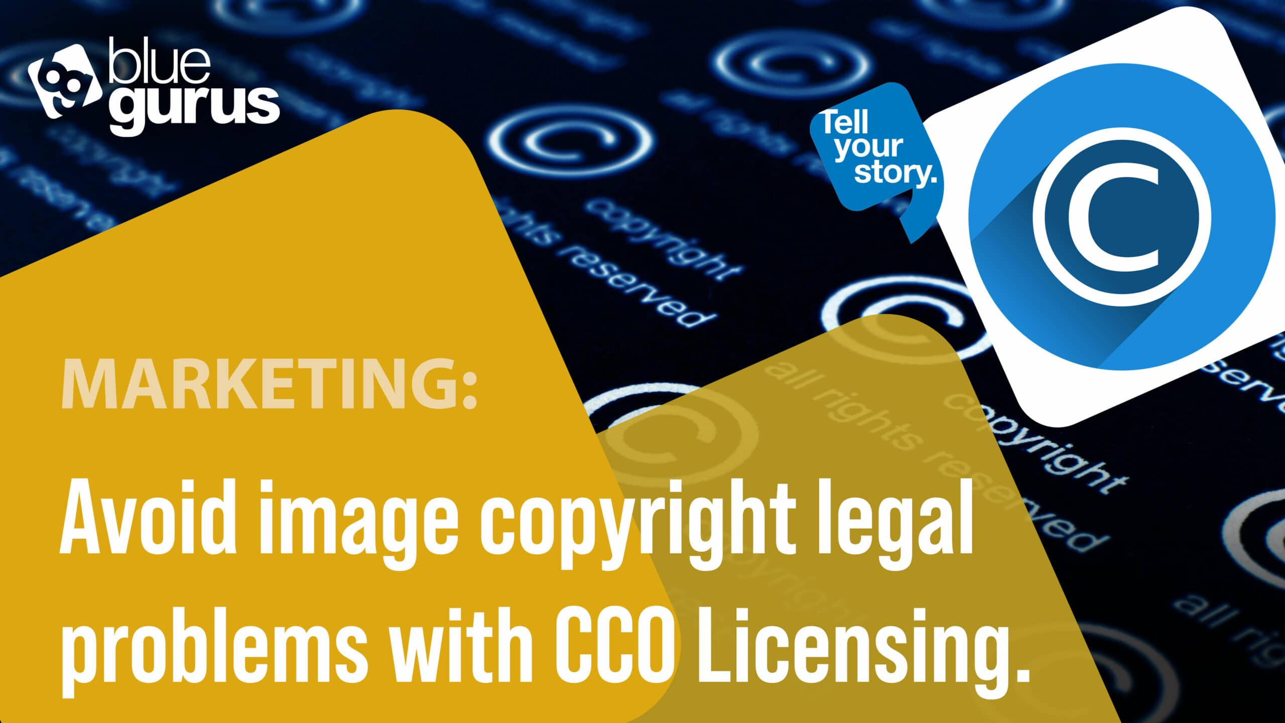 Avoid image copyright legal problems with CC0 Licensing.