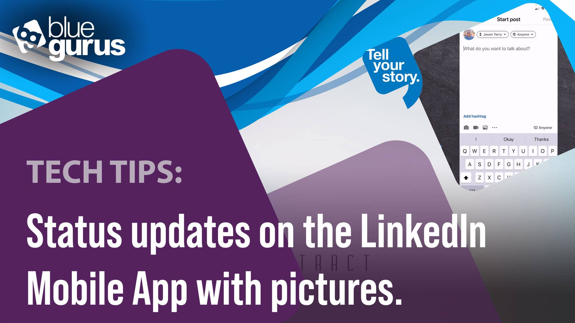 Status updates on the LinkedIn Mobile App... with pictures!
