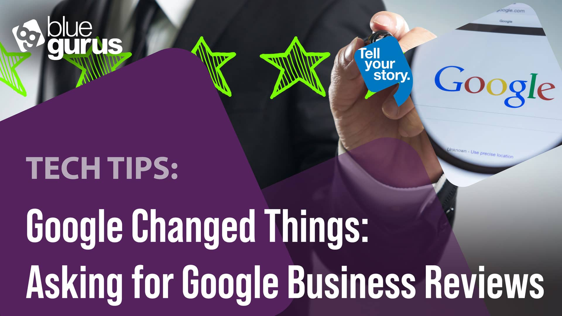 Asking for Google Business Reviews